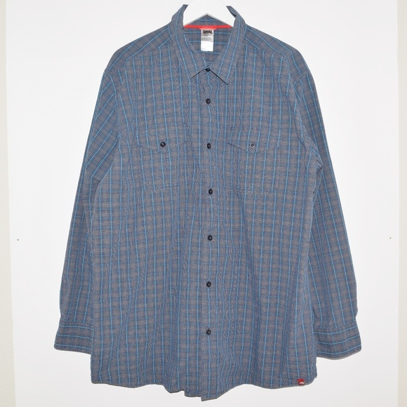 The North Face Other - The North Face Men's Plaid Cotton Button Up Shirt